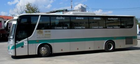 photo of a Chiang Mai to Chiang Rai Bus