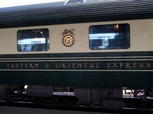 Eastern and Oriental Express train carriage