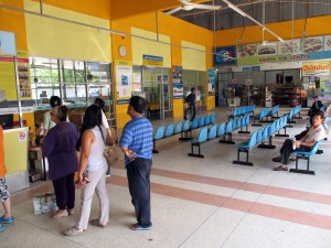 Inside Nakhonchai Air station
