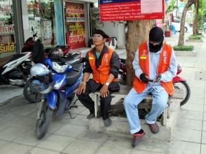 Motorbike Taxi in Bangkok