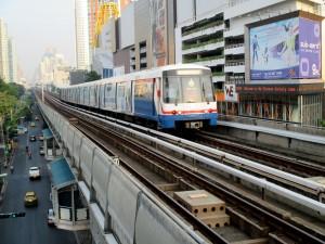 BTS Sky Train in Bangkok