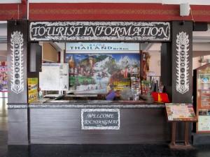 Tourist Information counter