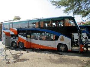 The Transport Company Bangkok Chiang Mai 2nd Class bus