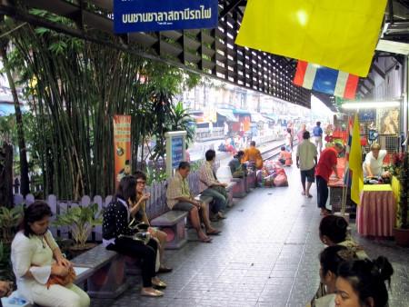 photo of Wongwian Yai railway station