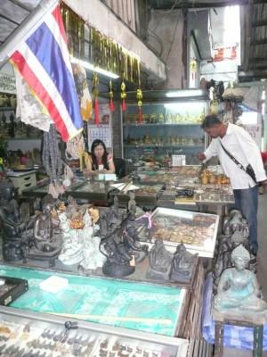 Amulet Market in Bangkok