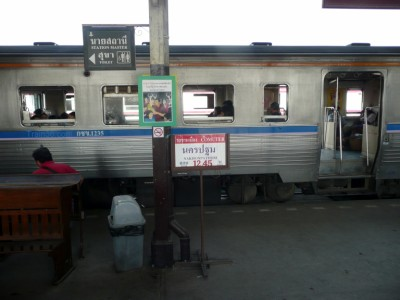 Bangkok to Nakhon Pathom Commuter Train