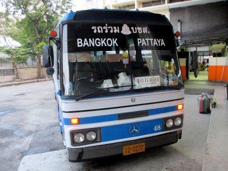 Bangkok - Pattaya otobüsü