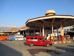 Chang Phuak local bus station