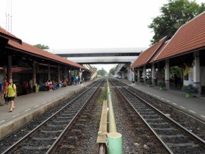 Photo of Don Muang's two platforms