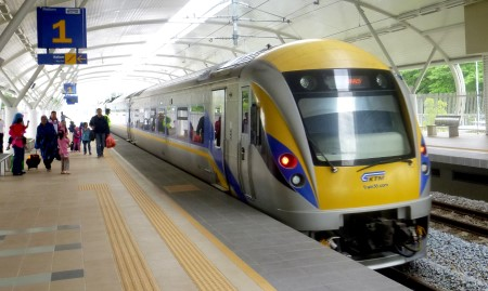 Photo of a high-speed ETS Train Malaysia