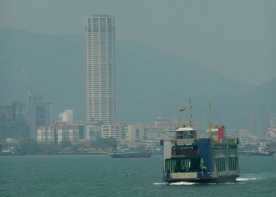 Photo of the ferry from Butterworth to Georgetown Penang