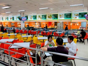 Food court on the 2nd Floor