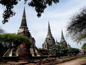 The Grand Palace in Ayutthaya