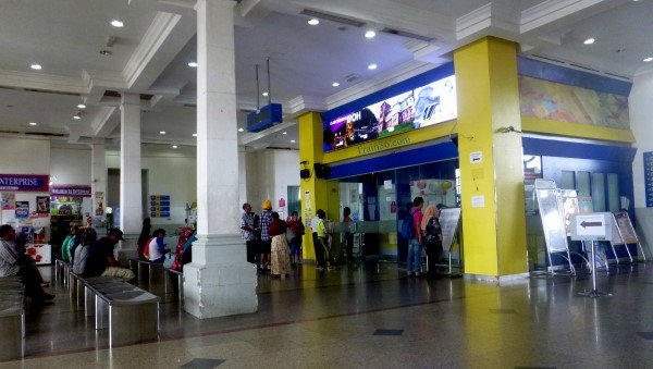 Ipoh Train Station Ticket Office