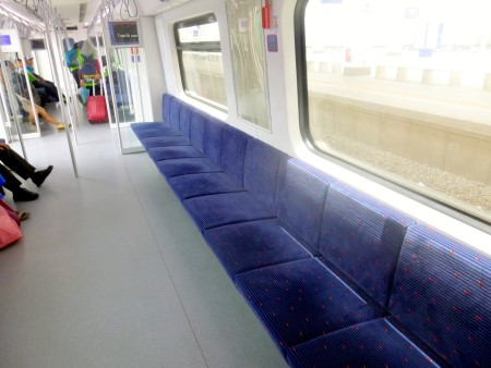 Inside a Butterworth - Padang Besar Komuter Train