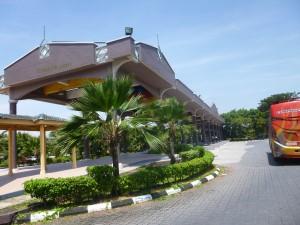 photo of the Kuala Perlis Bus Terminal