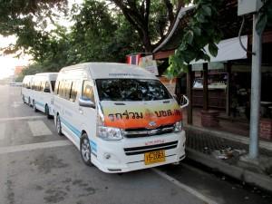 Minibus station for Sai Tai Mai