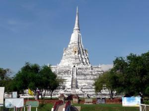 Old wat in Ayutthaya