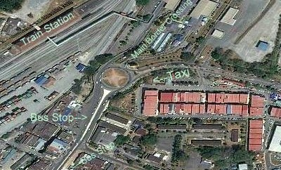 Padang Besar Malaysia Train Station map