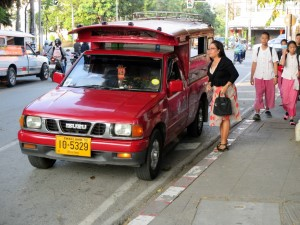 Red Car or Songthaew