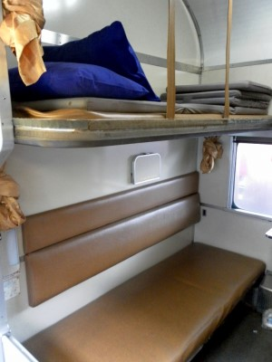 Second Class sleeper on train 13 / 14