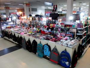 shops inside the station