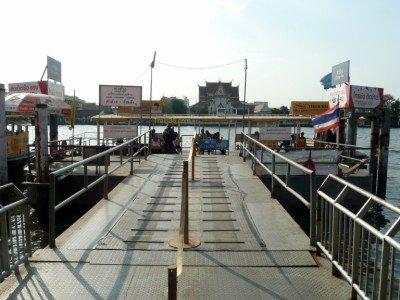 Photo of Tha Chang Pier in Bangkok
