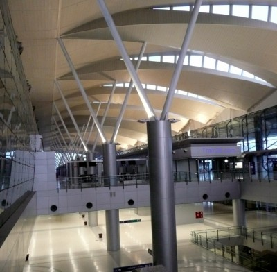 Inside Makkasan Station