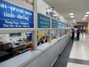 Bus Ticket selling counters