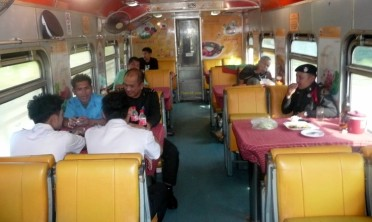 Thai Train Restaurant Car