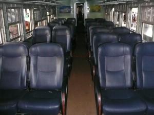 A 2nd Class Fan Seat Coach