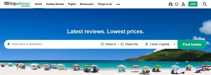 To visit Tripadvisor's website click here >>>
